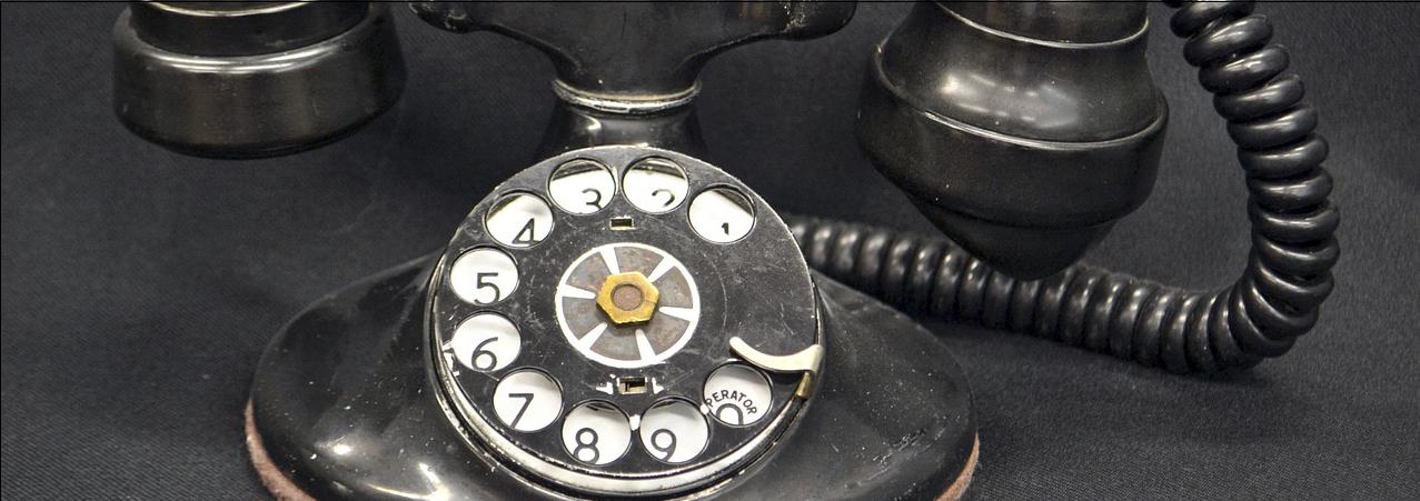 old phone narrow